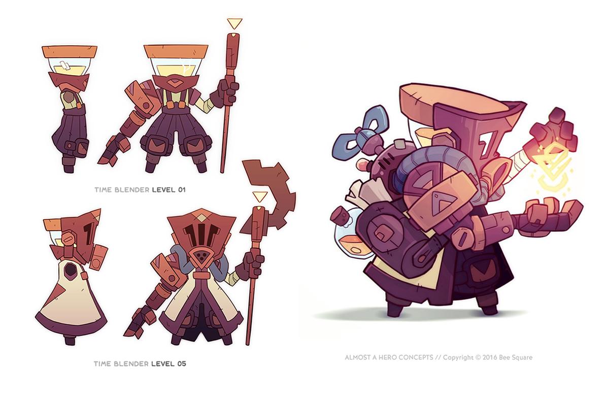 pablo hernandez u0026 39  character designs