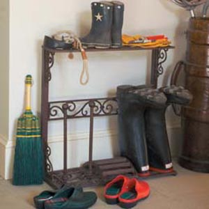 Wellie boot stands