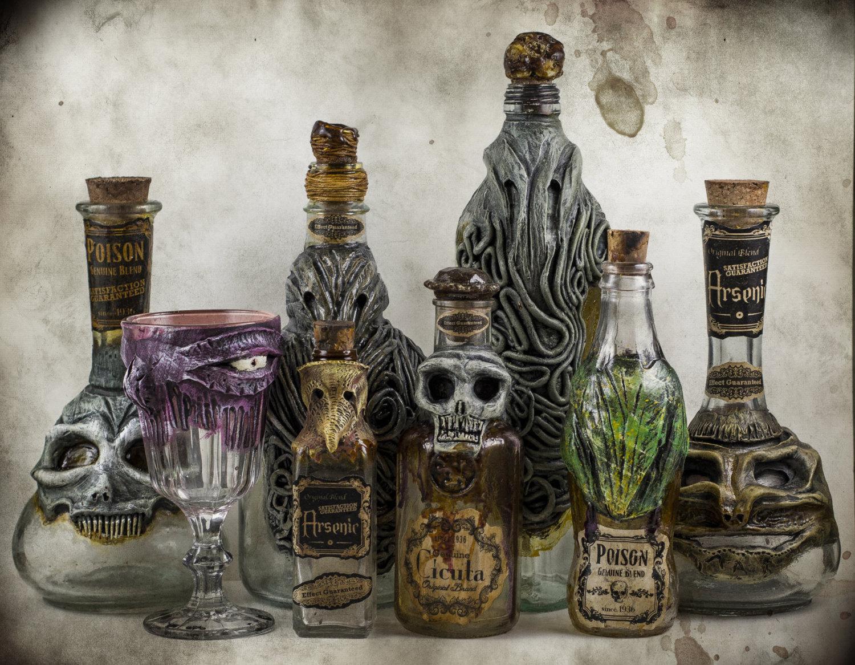Cthulhu bottles 1