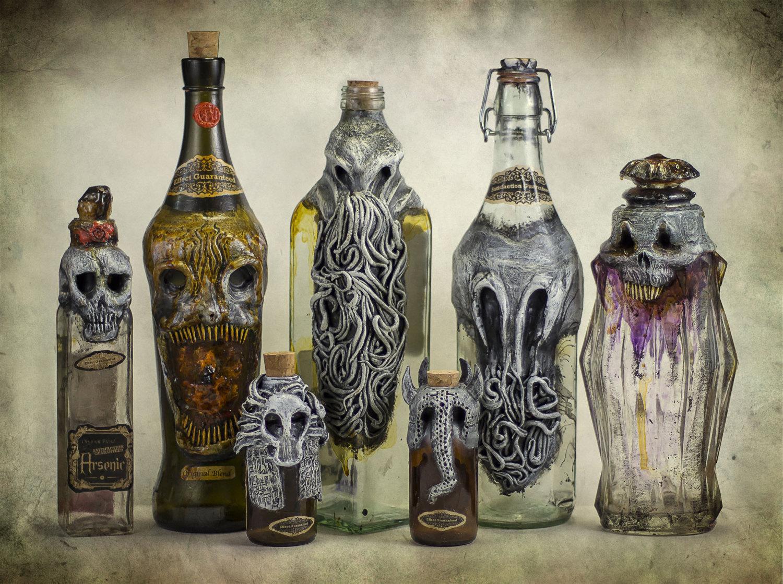 Cthulhu bottles 3