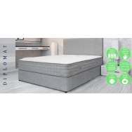 Diplomat pocket double matress