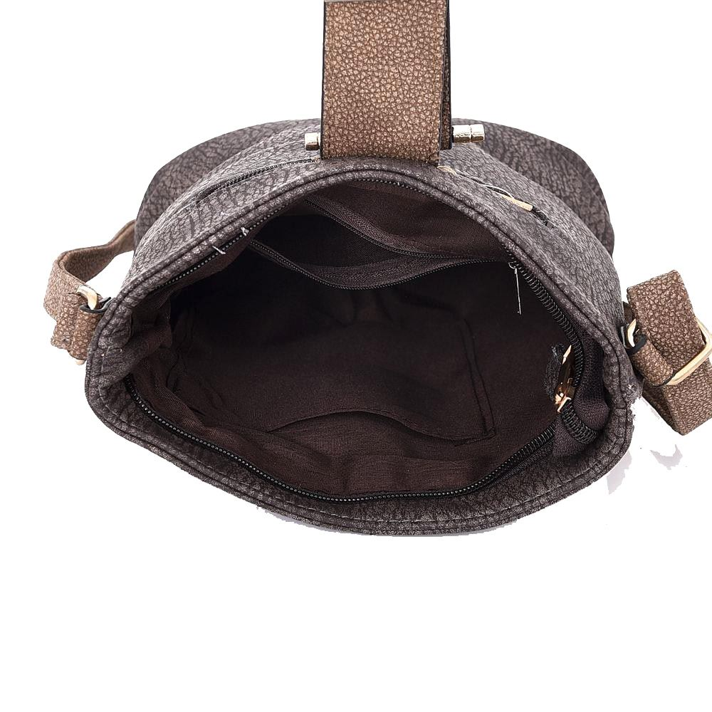 New Ladies Fashion Casual Buckled Flap Detail Crossbody Bag Casual Handbag