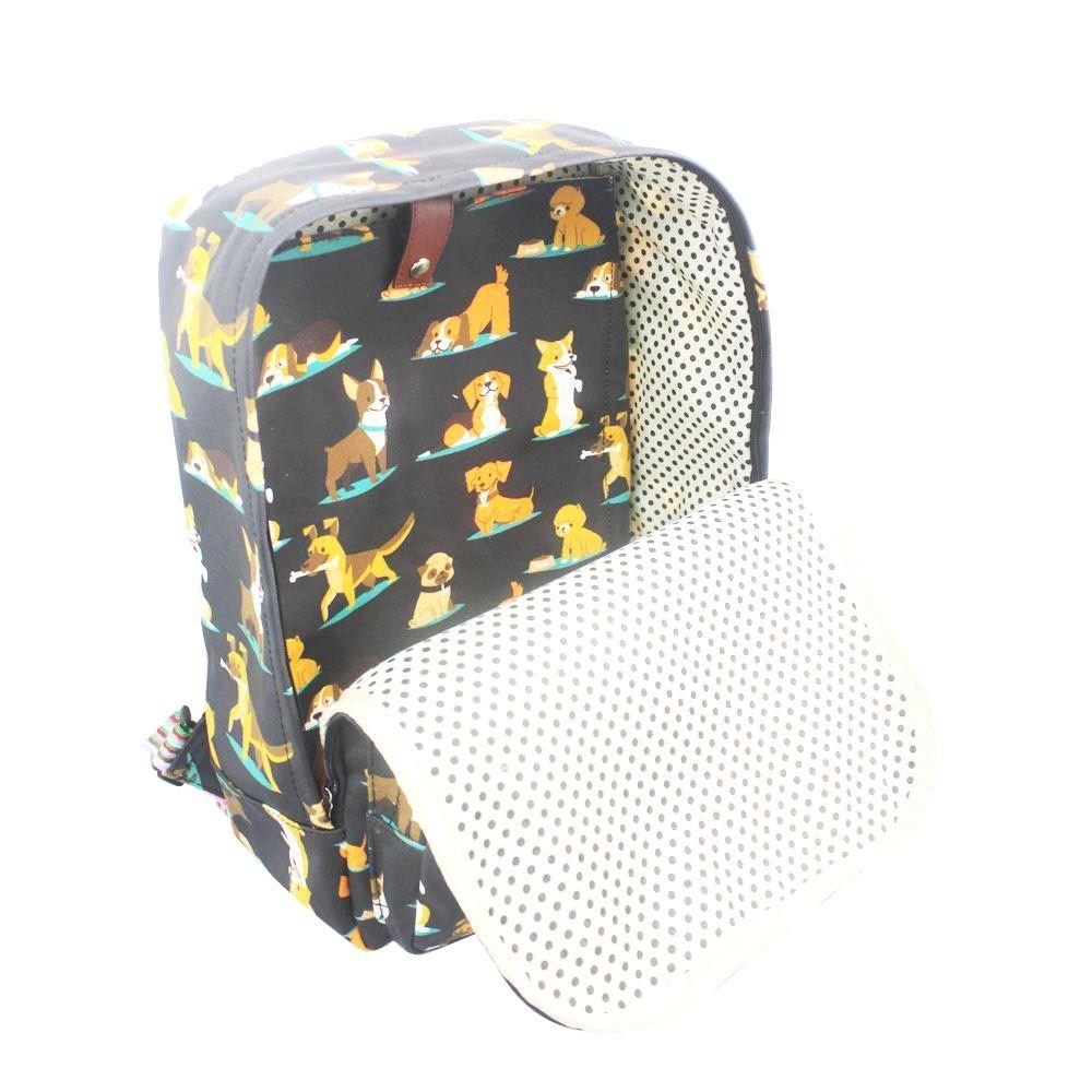 New Water Resistant Laptop Bag Rucksack Assorted Dog Design Back Pack