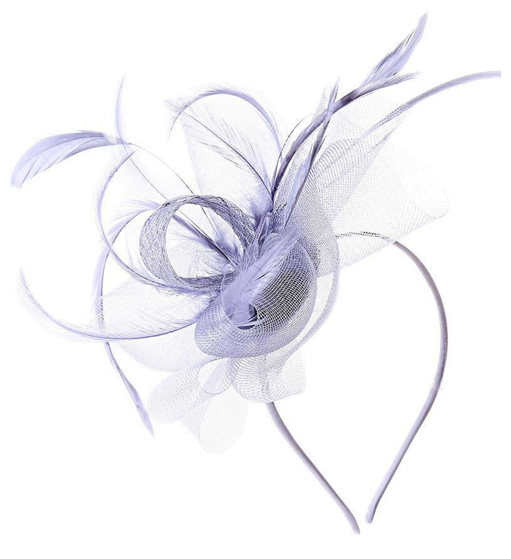 New Feather Headband Ladies Fascinator Ascot Races Special Occasions