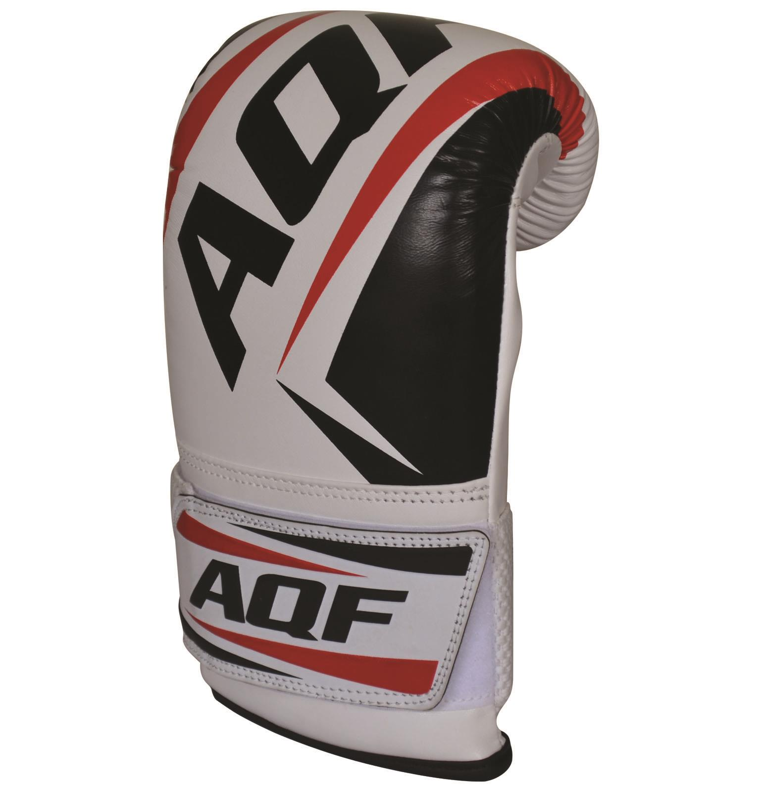 AQF Boxing Bag Mitts Gloves Punching Bag Mitts MMA Muay Thai Training