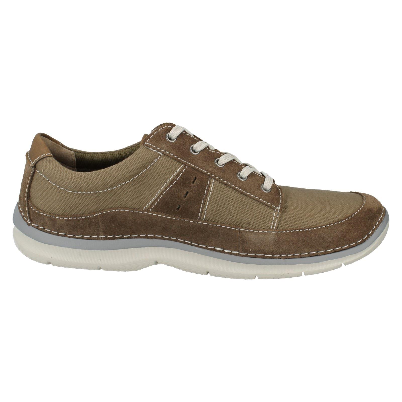 336a6f1217961 Abbigliamento e accessori Men S Clarks Tela Lacci Scarpe lo stile Ripton  Plain