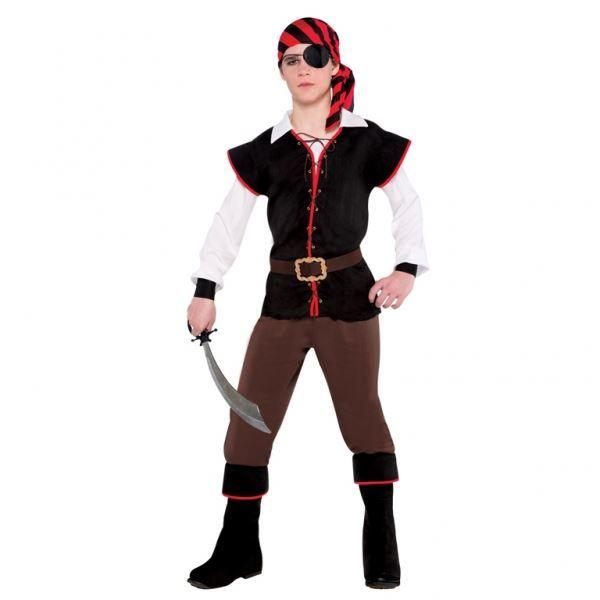 Ragazzi Costume Pirata Costume Libro Settimana E ACCESSORI LOTTO