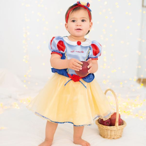 Official Disney Princess Snow White Deluxe Baby Toddler Fancy Dress Costume