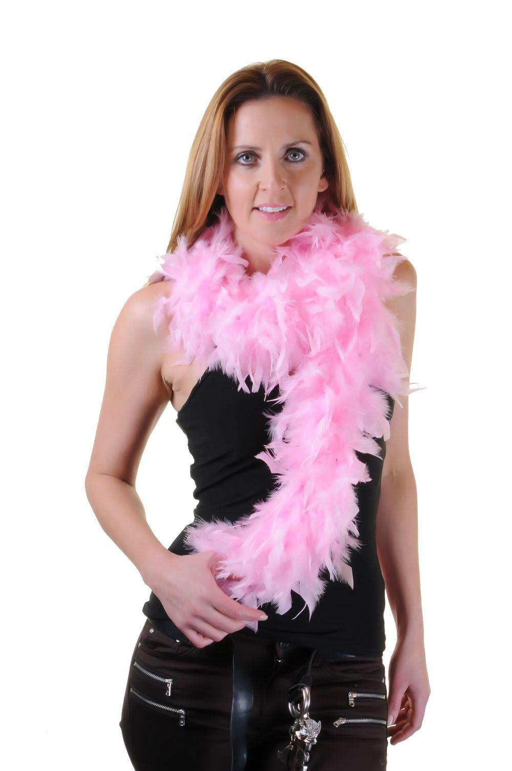 150cm 115gm FEATHER BOA Burlesque Showgirl Danza Costume Accessorio Hen Night