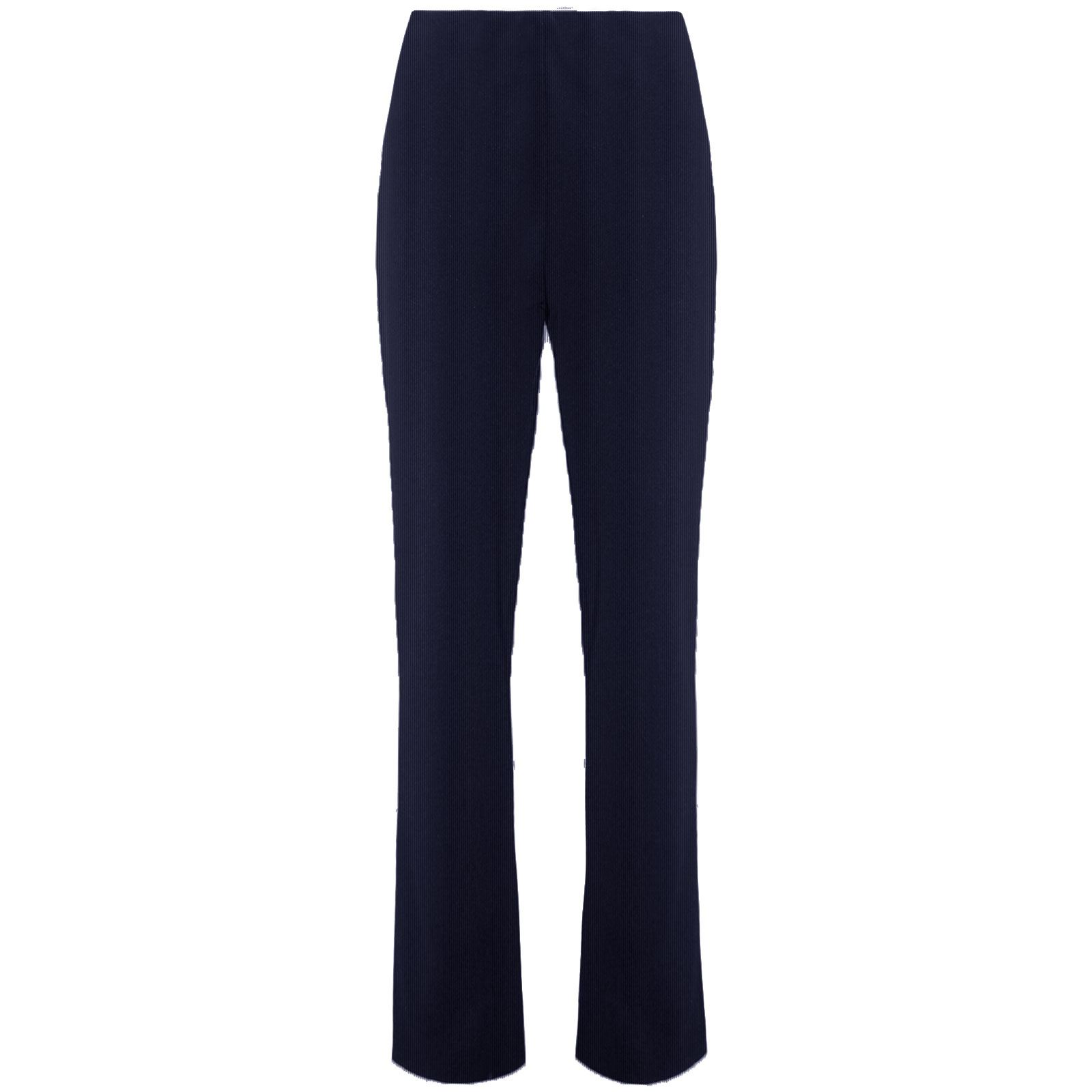 WOMENS BOOTLEG PULL ON TROUSERS LADIES SLIM FIT RIBBED PANTS BOTTOMS PLUS SIZE