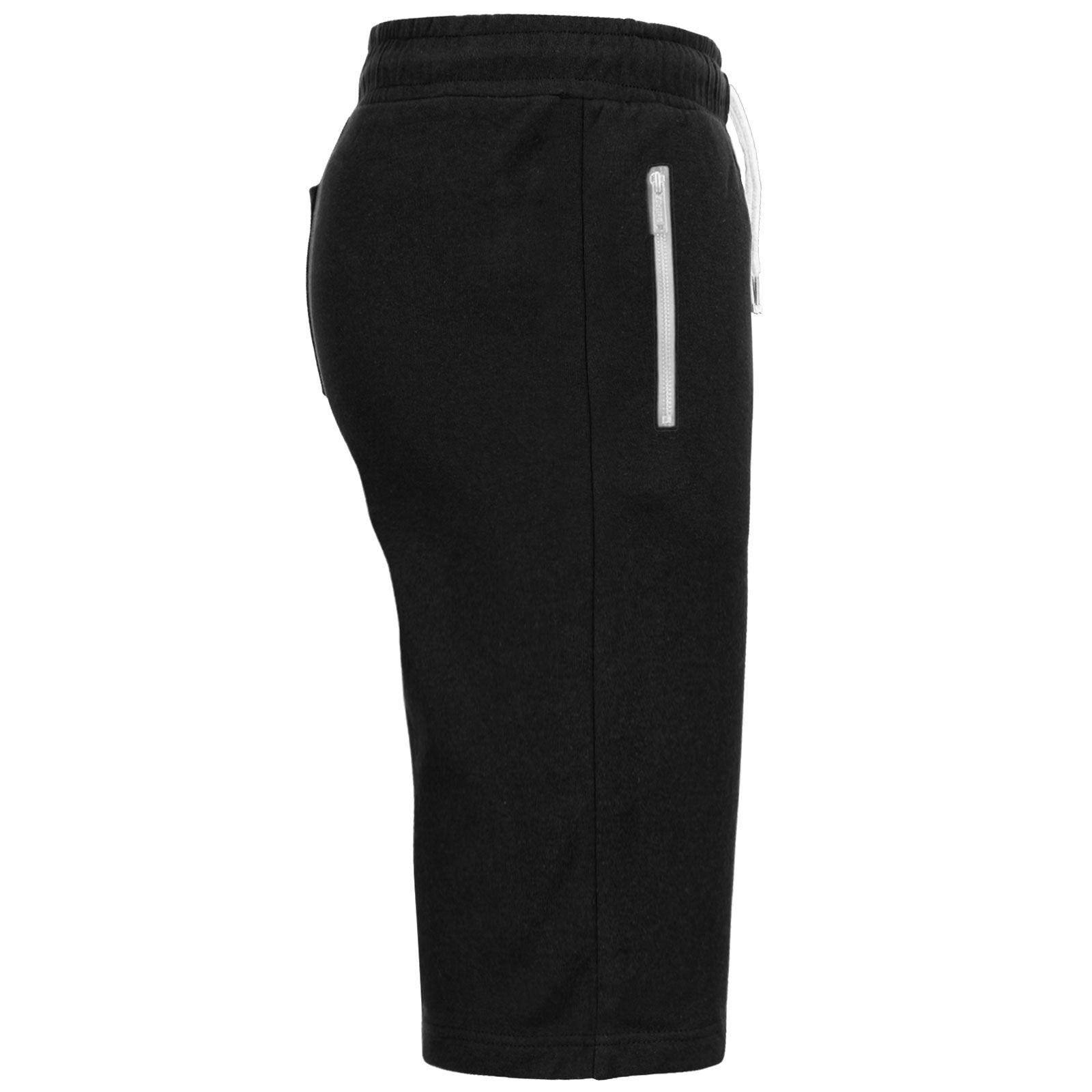 Pantaloncini da uomo 3//4 Sudore Jogger Estate Tasca Fleece Jersey Sport da Palestra Corsa Pantaloni