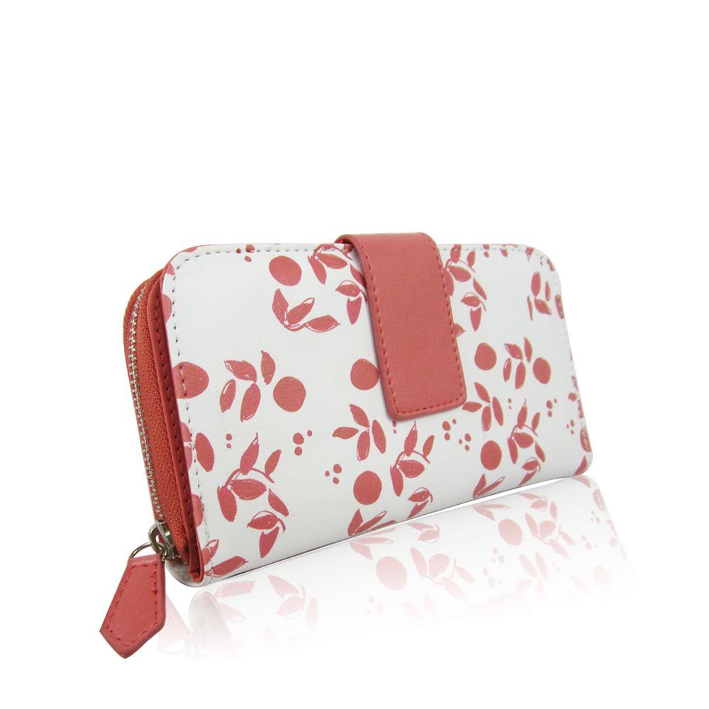New Women/'s Stylish Casual Leaf Pattern Designer Style Pattern Ladies Wallet