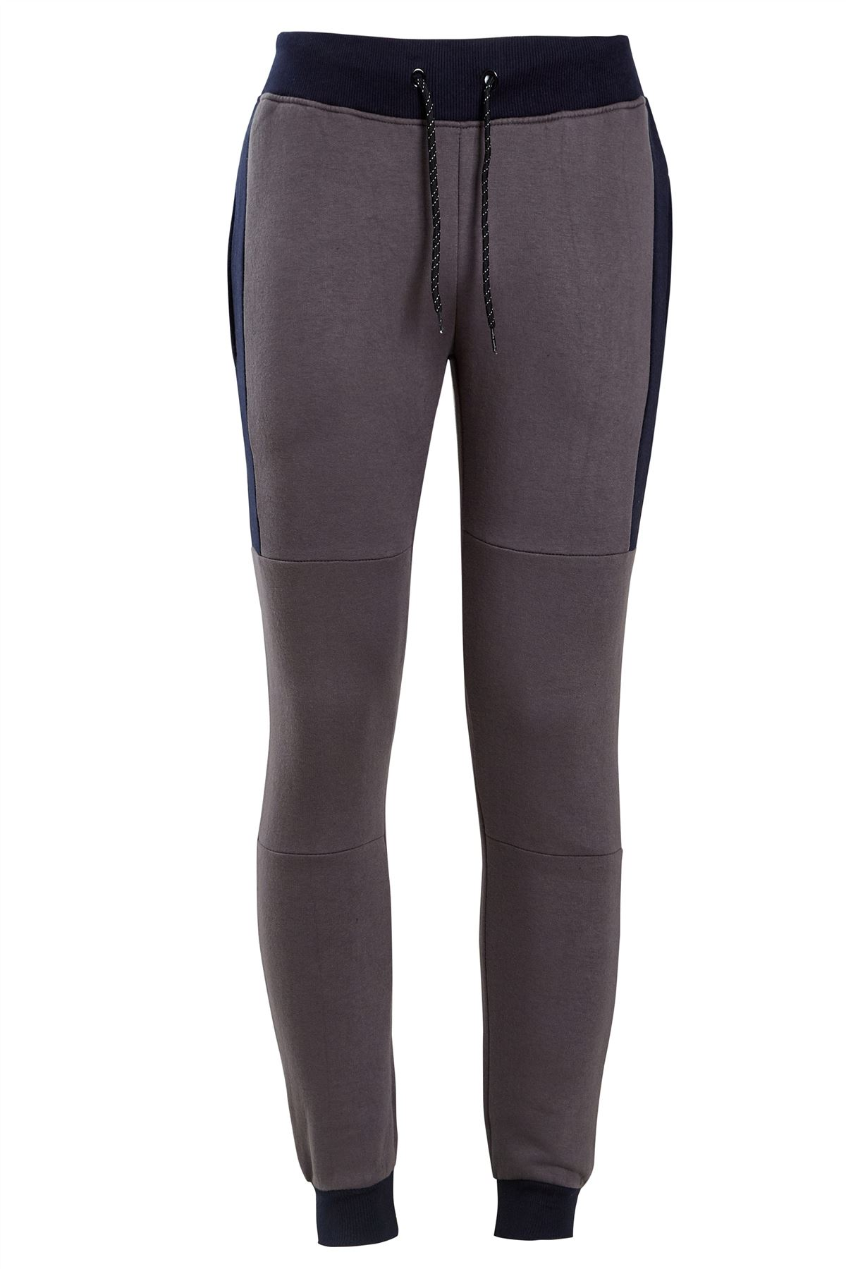 shelikes Mens Casual Contrast Panel Black Slim FIT Exercise Gym Jogging Zip Jacket Tracksuit