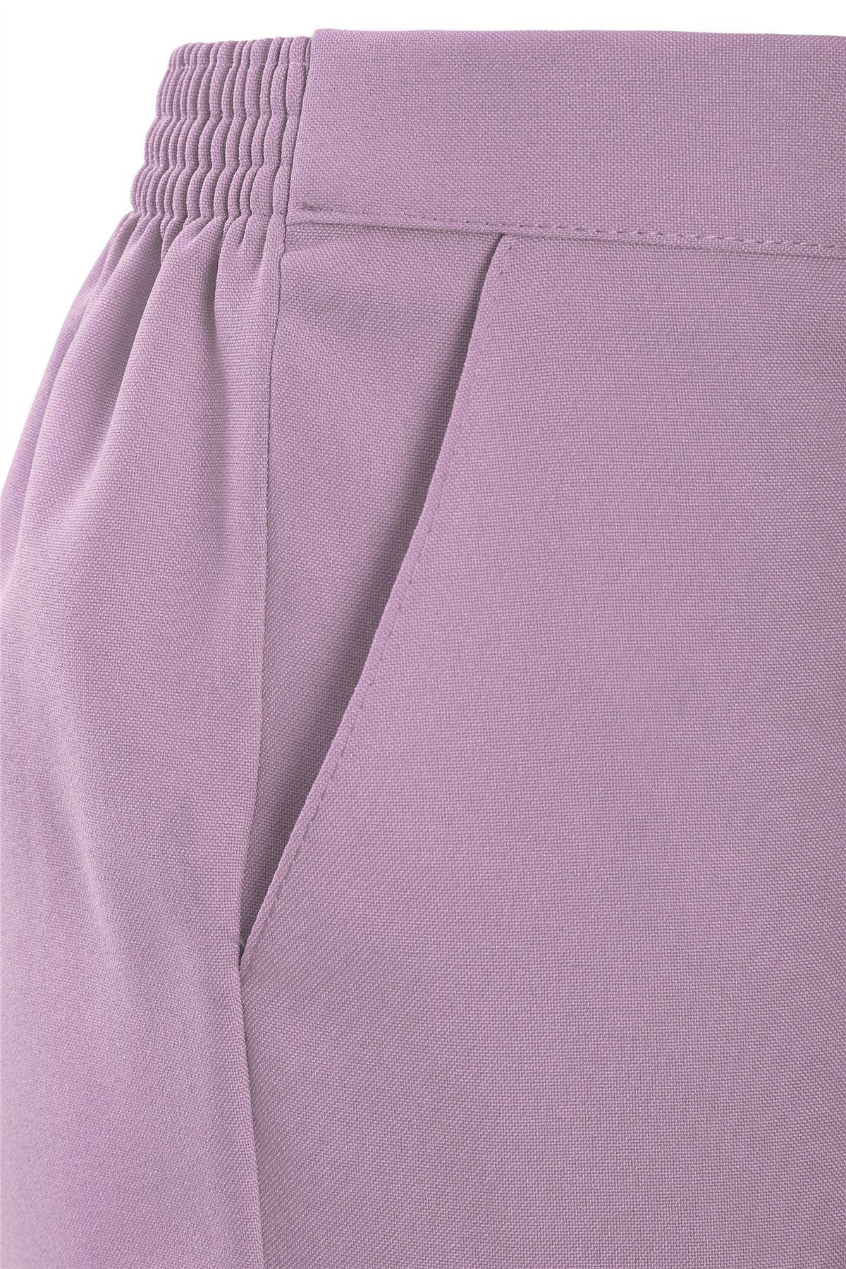 Womens 3//4 Half Elasticated Trouser Capri Cropped Stretch Summer Pants