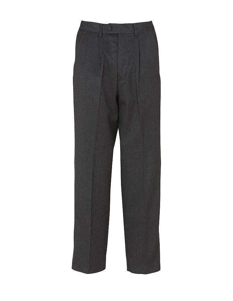 Navy Charcoal 23-40in Waists Grey Half Elastic Sturdy Trousers Black