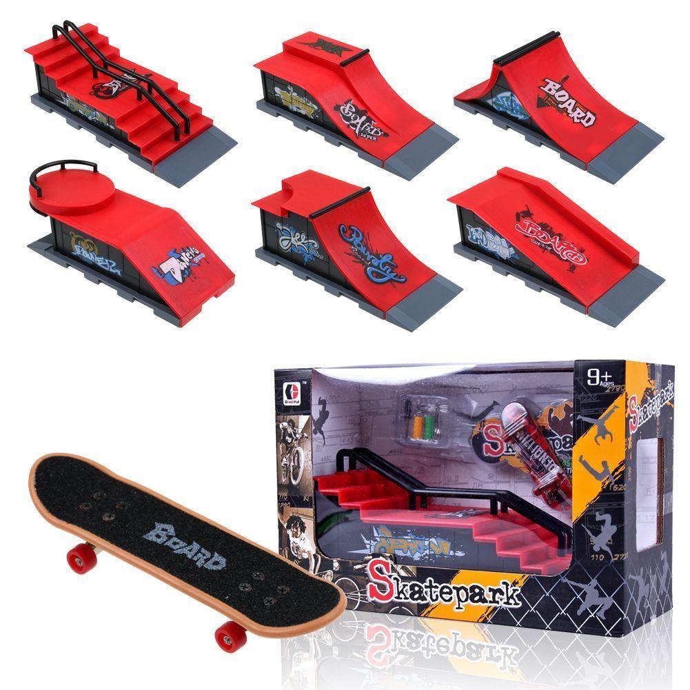 Mini Deck Skatepark Platform Mini Skateboard or Mini Bike Finger Bicycle Board