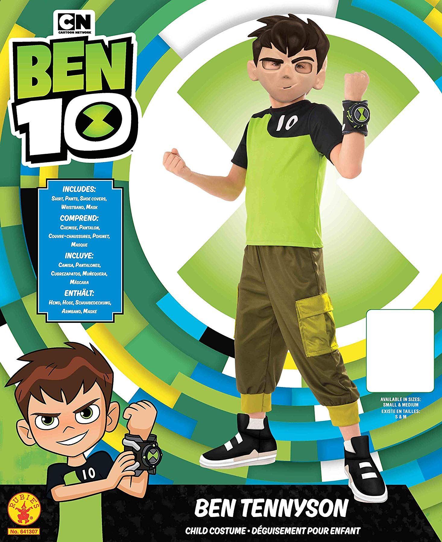 Kids Deluxe Ben 10 Ben Tennyson Costume