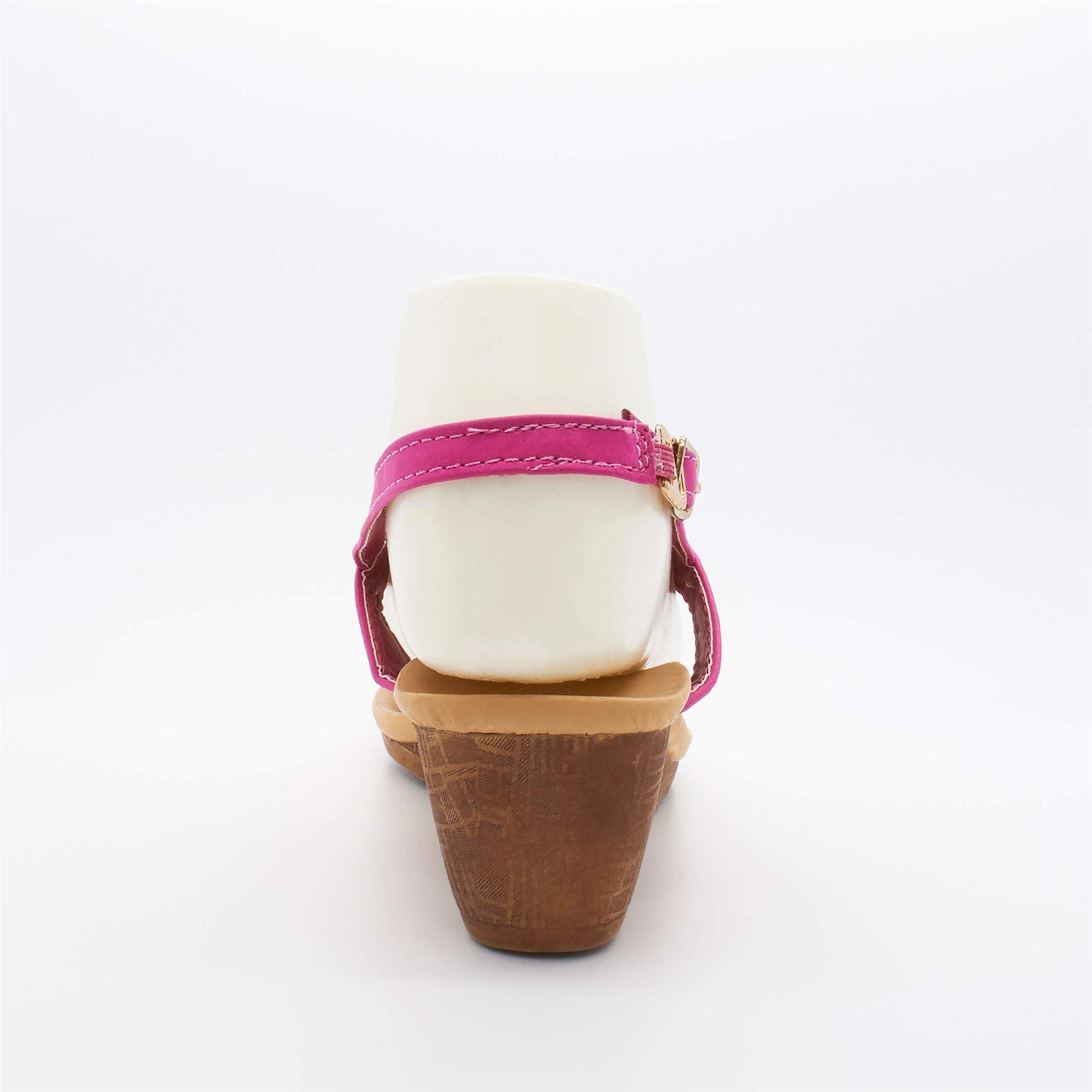Womens Ladies Beaded Summer Toe Post Flip Flop Wedge Sandals Size Platform Pearl