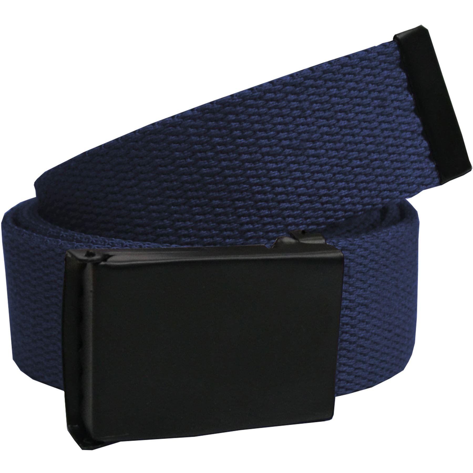 Mens Canvas Belt Adjustable Buckle Designer Regular Big Size Belts For Jeans