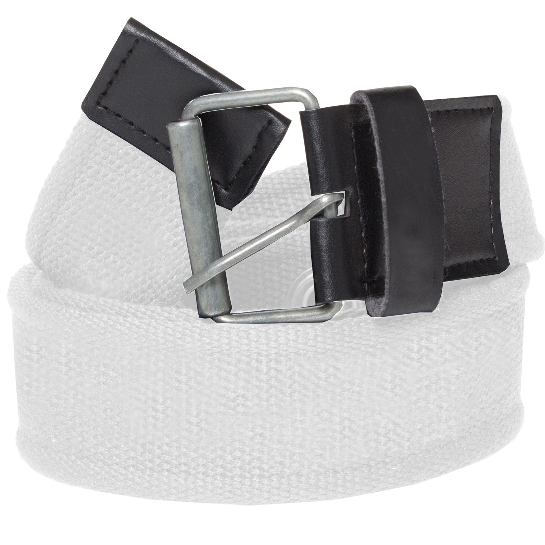 New Kruze Mens Designer Canvas Buckle Belt For Jeans Big Tall King Sizes