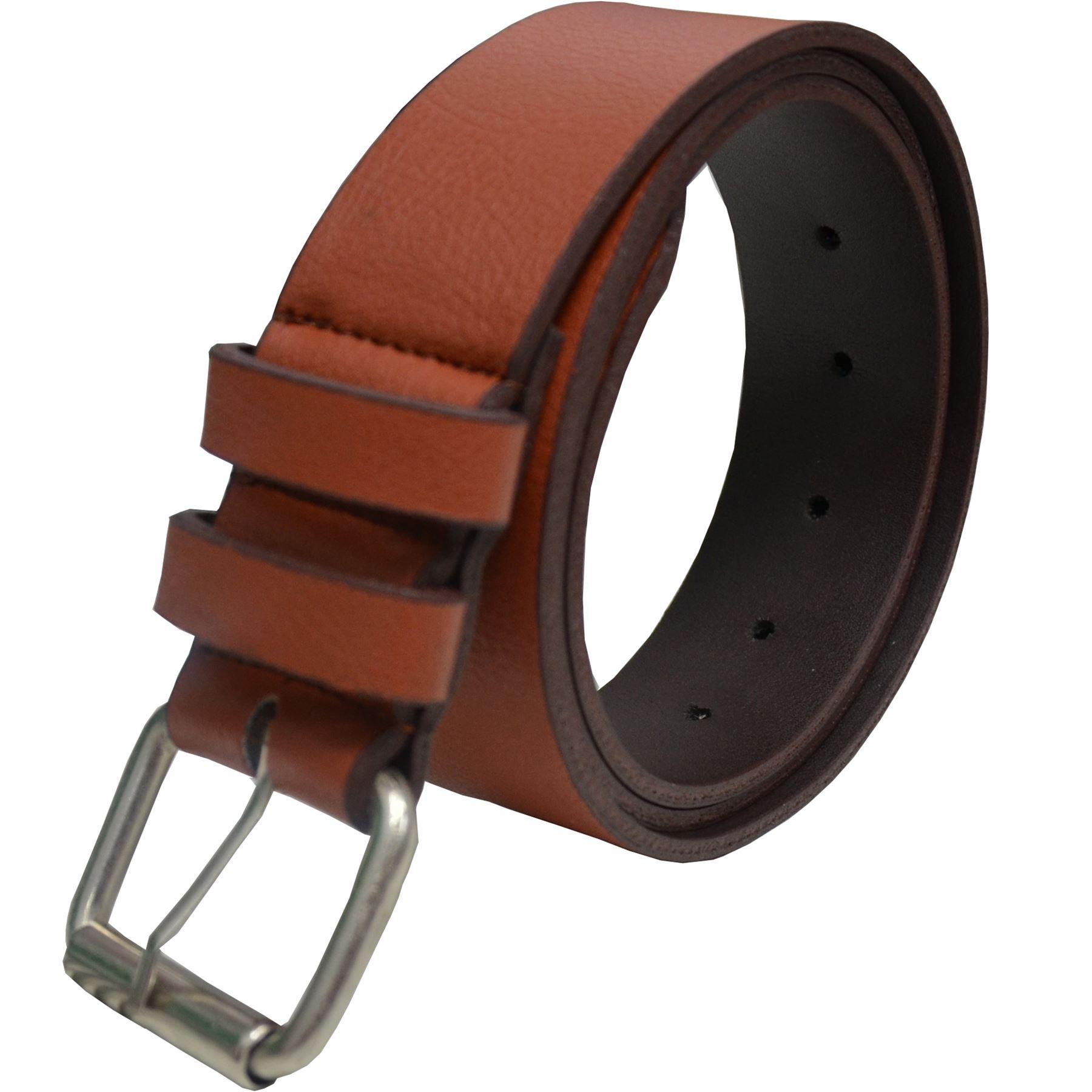 Eto Designer New Mens PU Leather Buckle Belt For Jeans Belts Big Tall King Sizes