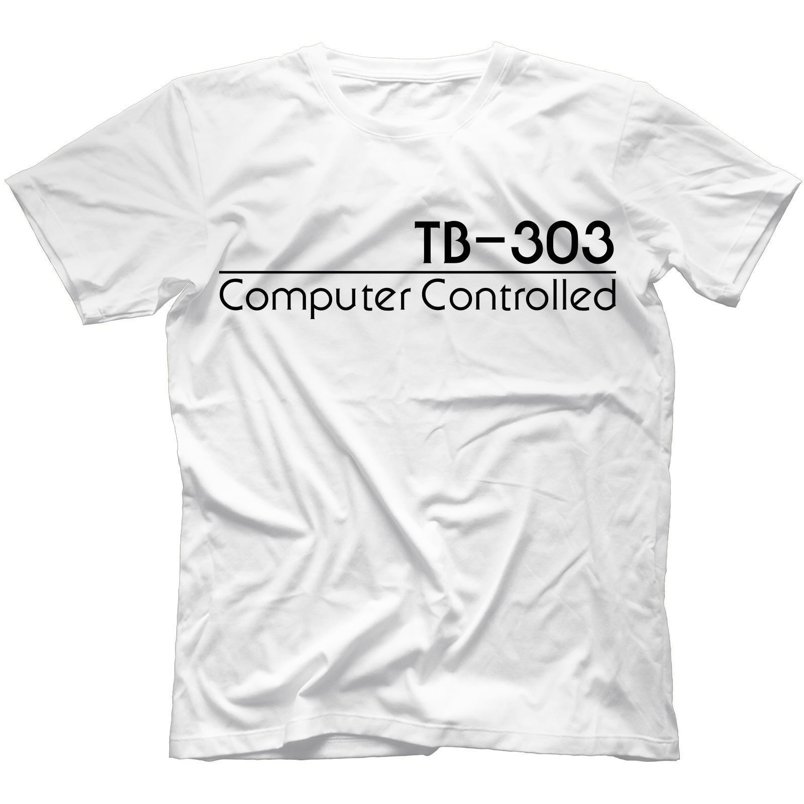 TB-303 T-Shirt 100/% Cotton Synthesiser Acid Analog Retro 808 909