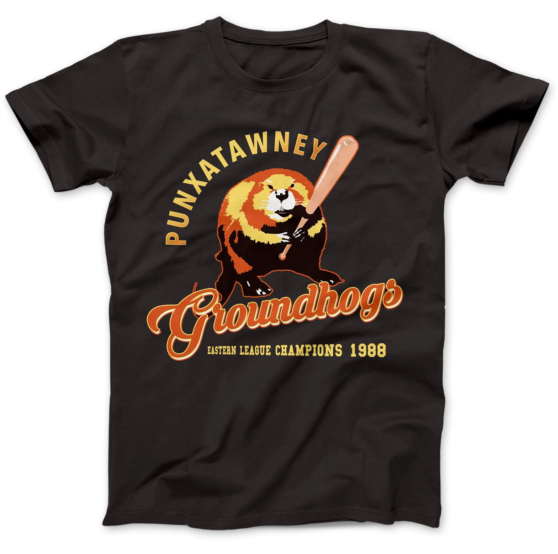 Groundhogs T-Shirt 100/% Premium Cotton Punxatwaney Groundhog Day