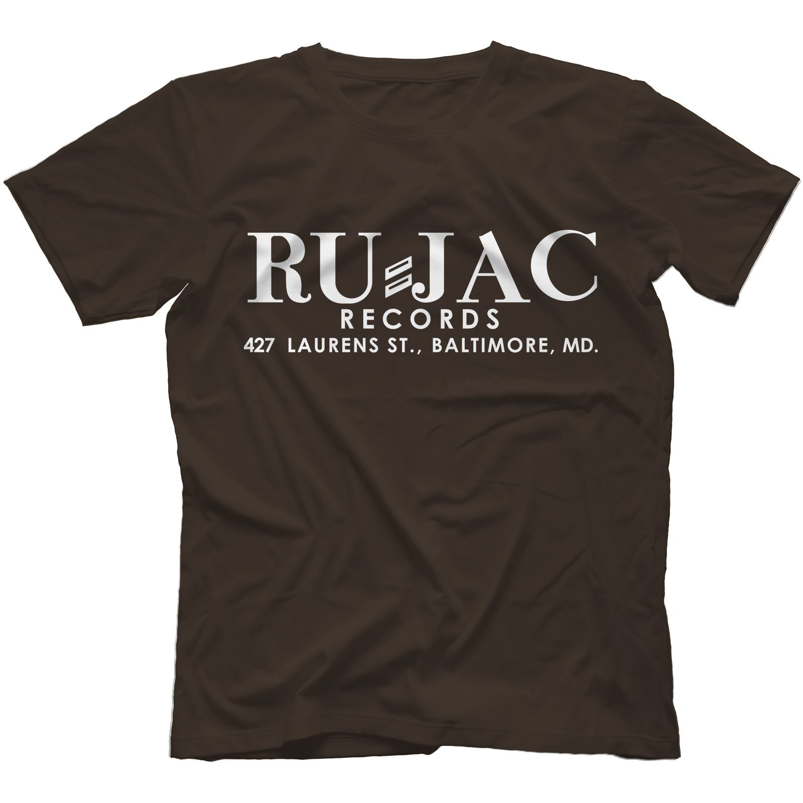 Ru-Jac Records T-shirt 100/% Coton Dynamic Corvettes Gene /& Eddie Soul