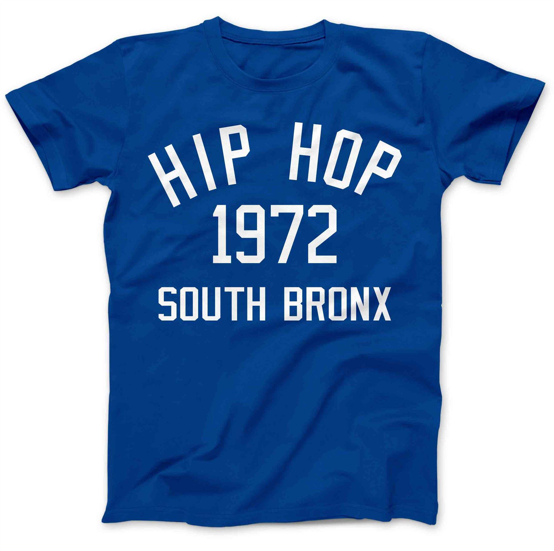 Hip Hop Music Bronx 1972 T-Shirt 100/% Premium Cotton Rap Grandmaster Flash