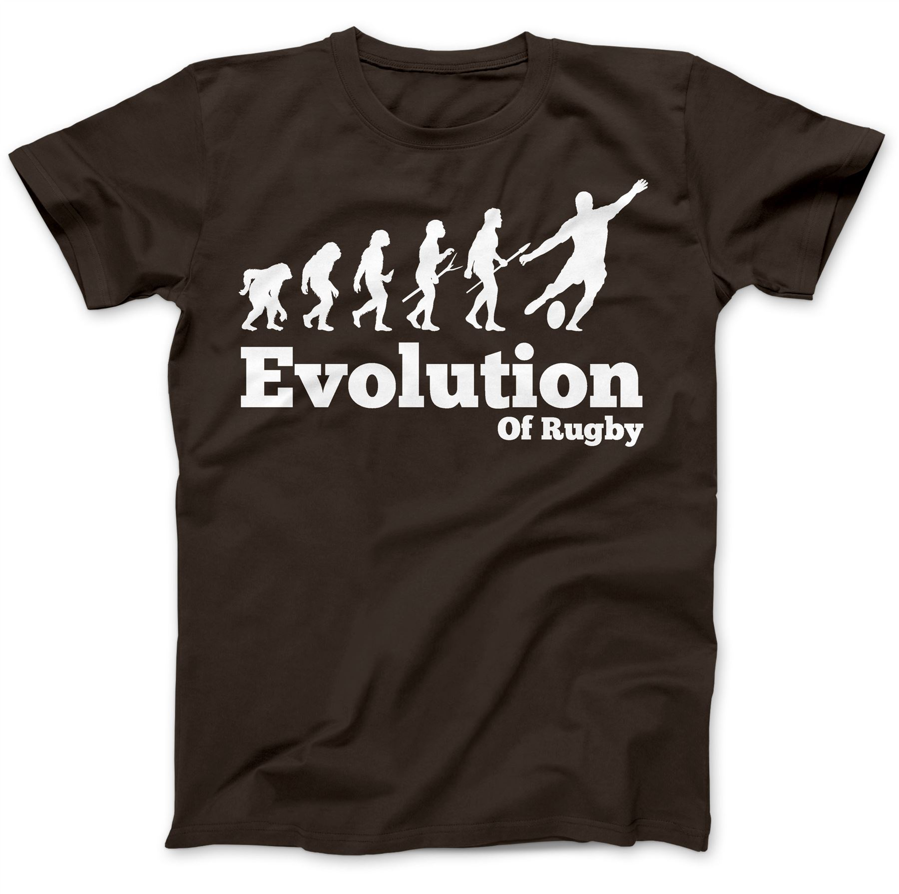 Rugby Player Evolution 6 Six Nations T-Shirt 100/% Premium Cotton Gift Present