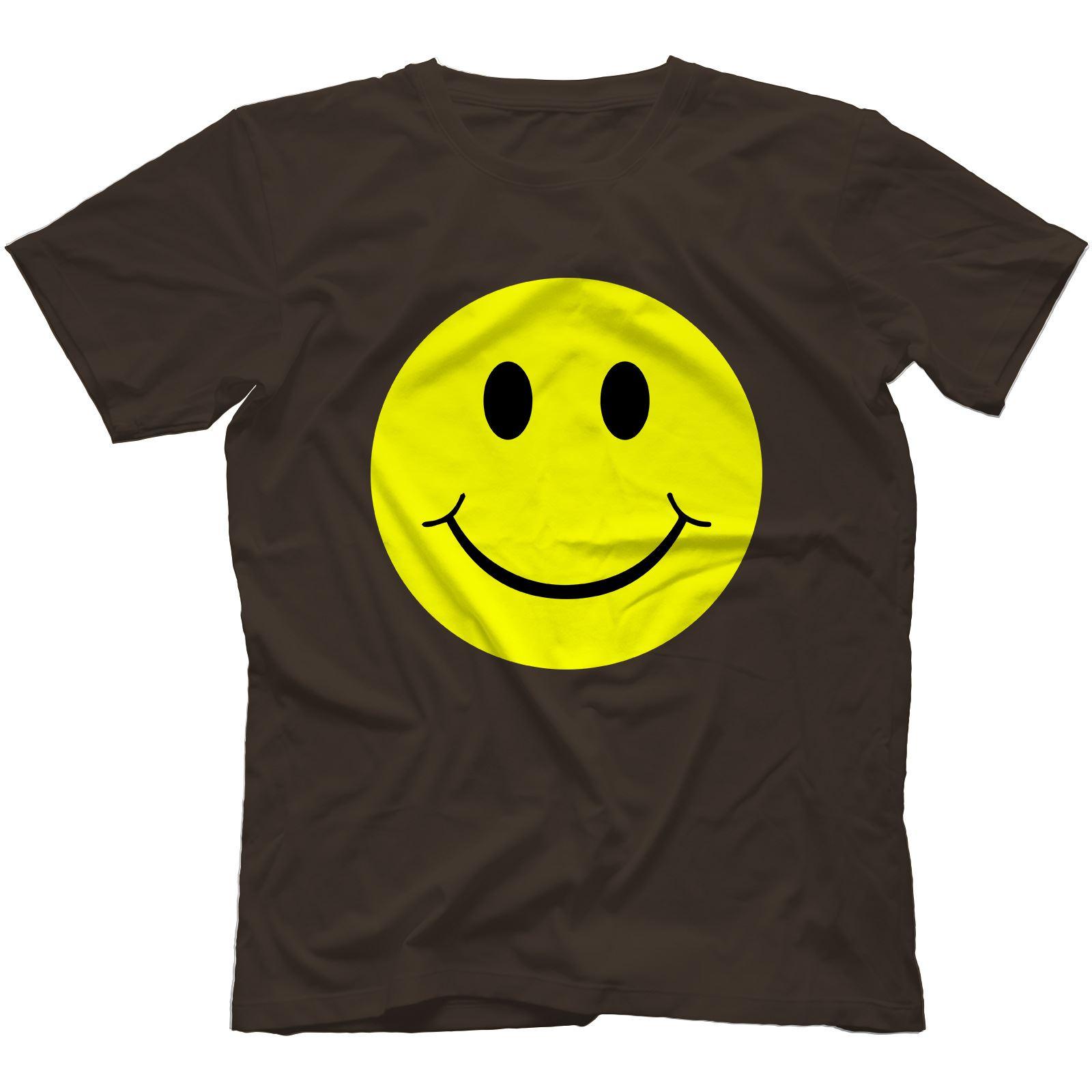Acid House Smiley T-shirt 100/% Coton I Love Rave Old Festival