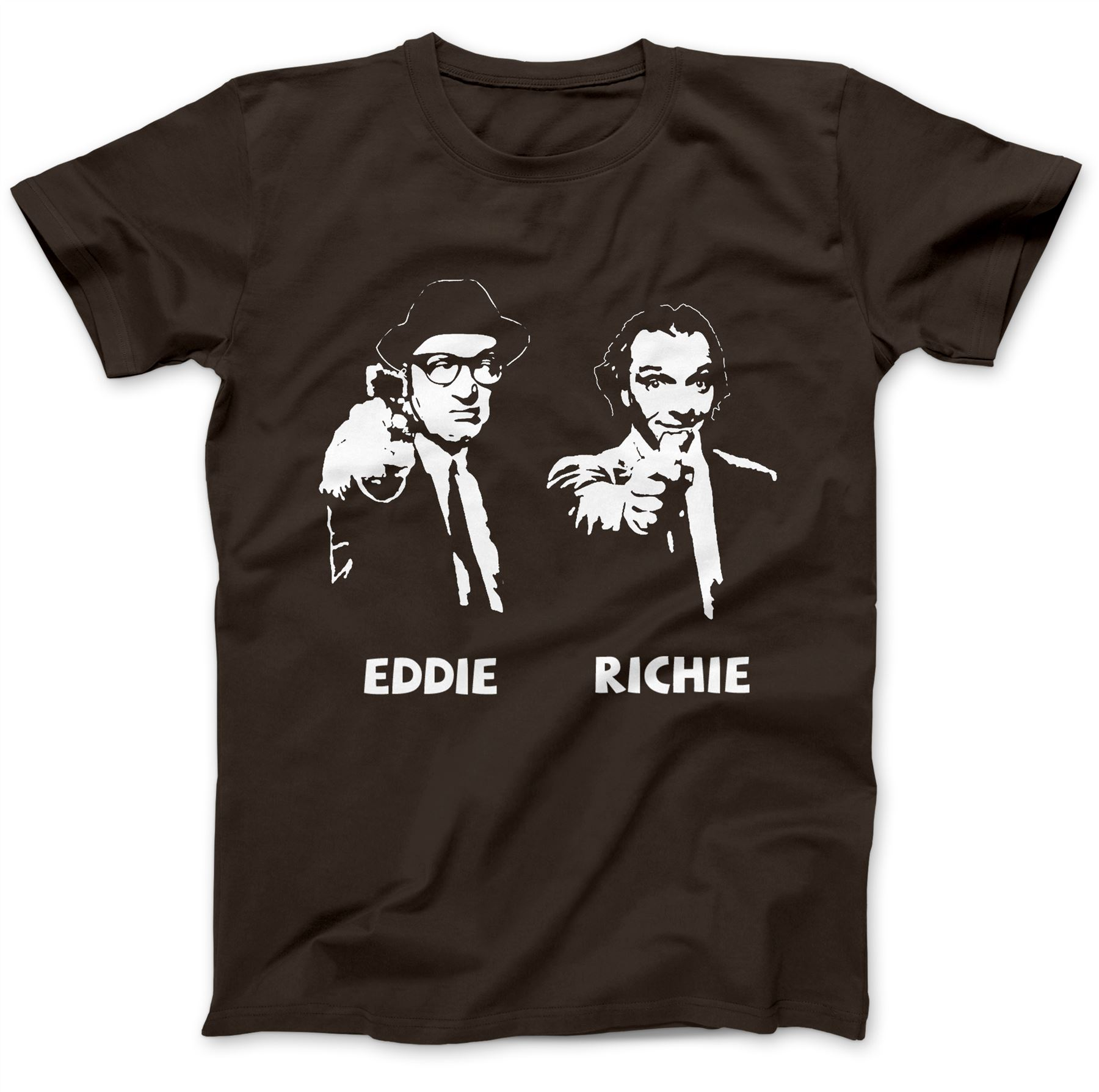 Camiseta inspirada en inferior 100/% Algodón Premium Rik Mayall ADE Edmondson