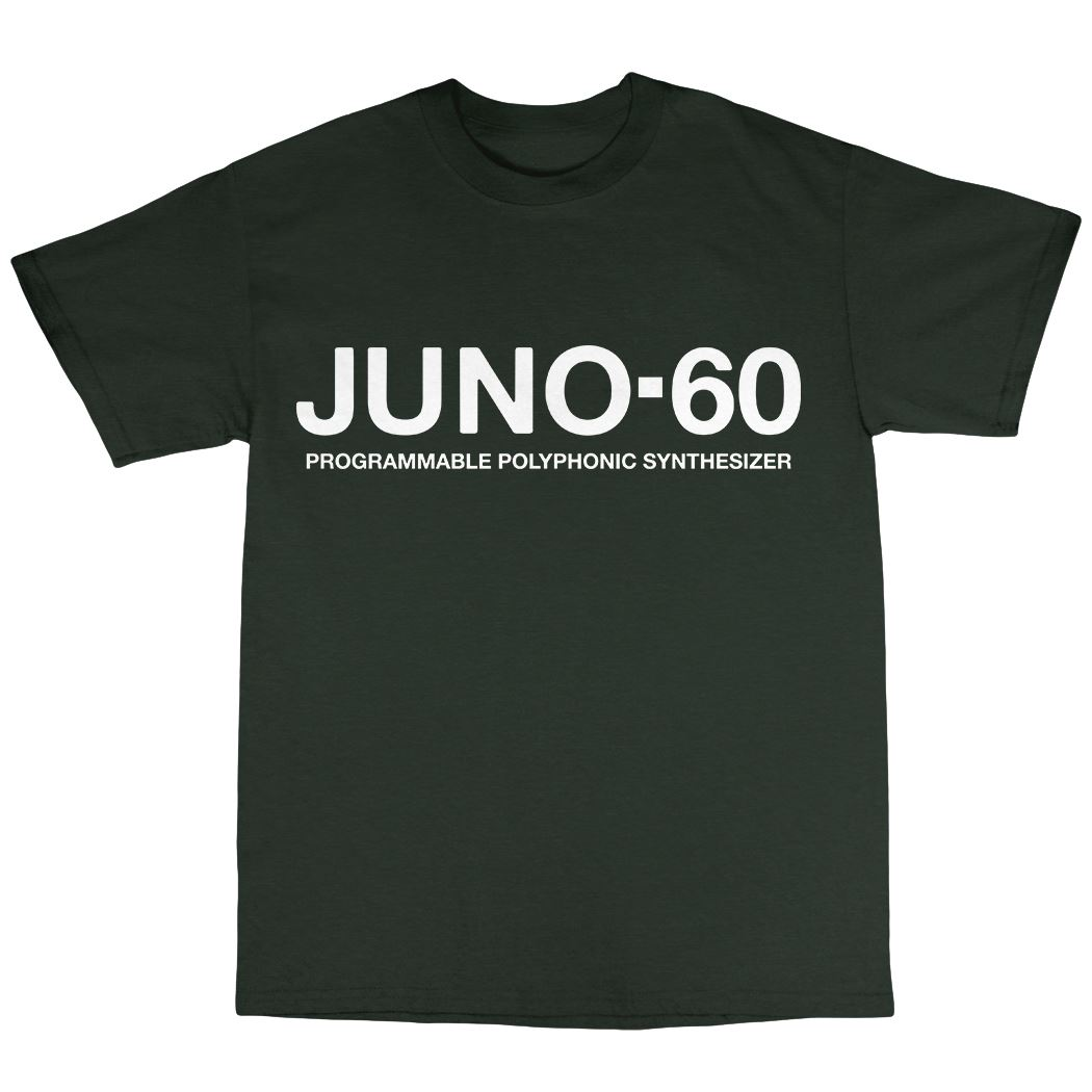 Juno-60 Synthesiser T-Shirt 100/% Cotton Juno-6 106 Synthesizer Moog