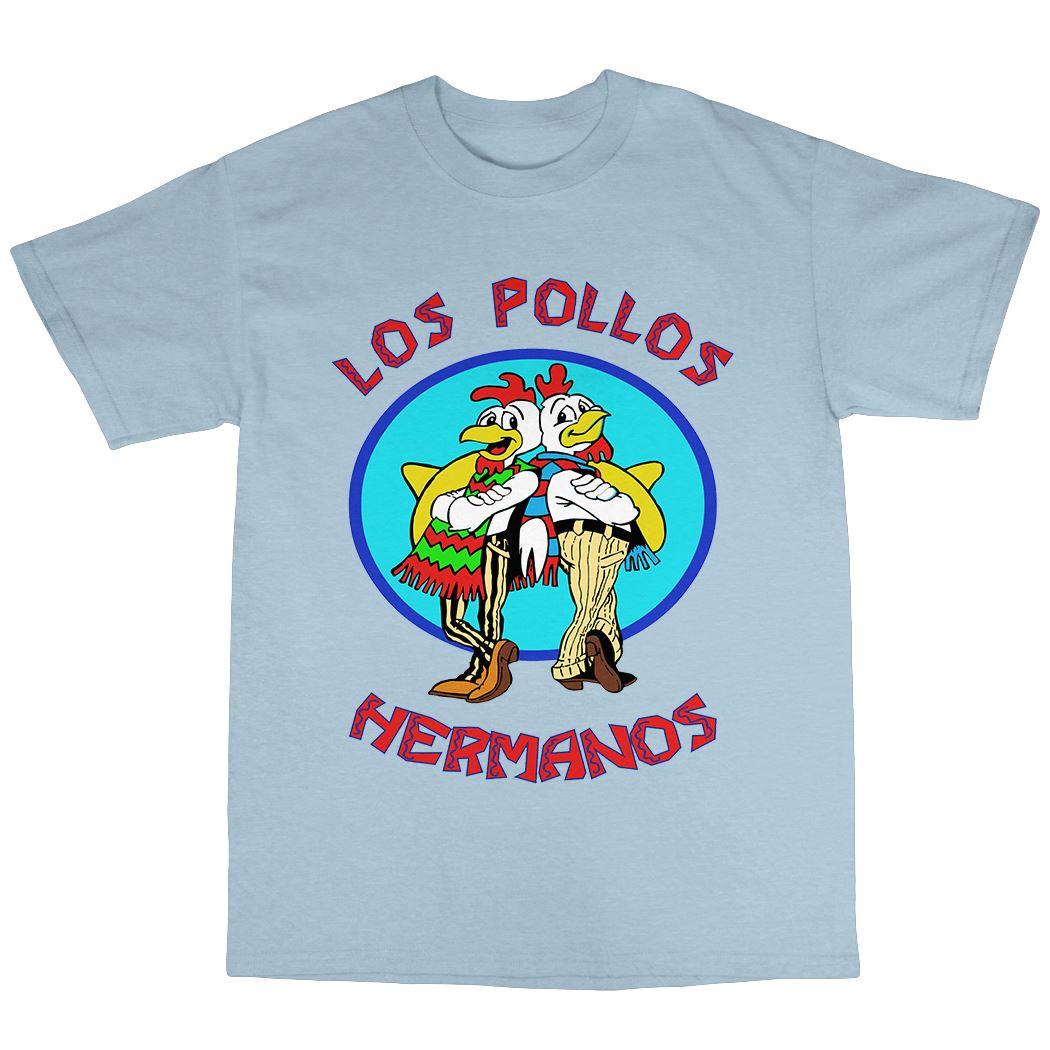Los Pollos Hermanos T-Shirt 100/% Cotton