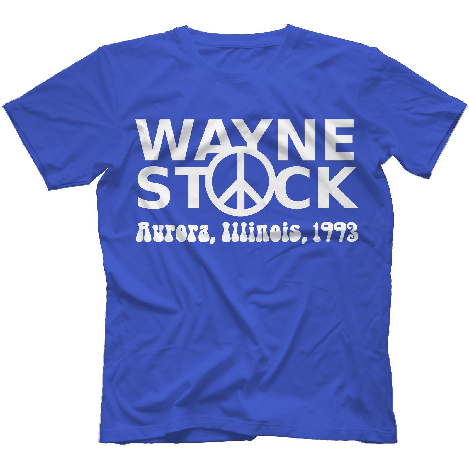 Waynestock T-Shirt 100/% Cotton Wayne/'s World Inspired Party On 2 Dude Unisex