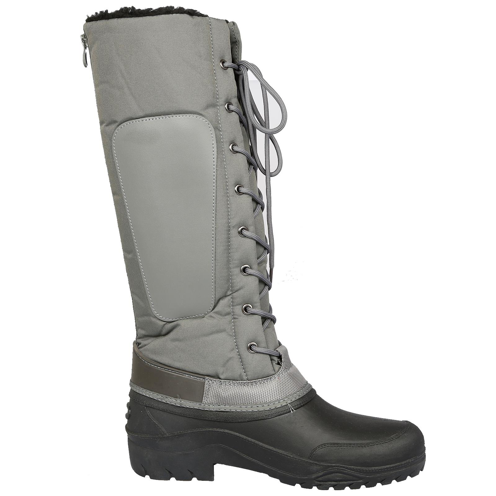 B/&A Siberia Women Horse Riding Waterproof Foot Ladies Mucker Winter Thermo Boots