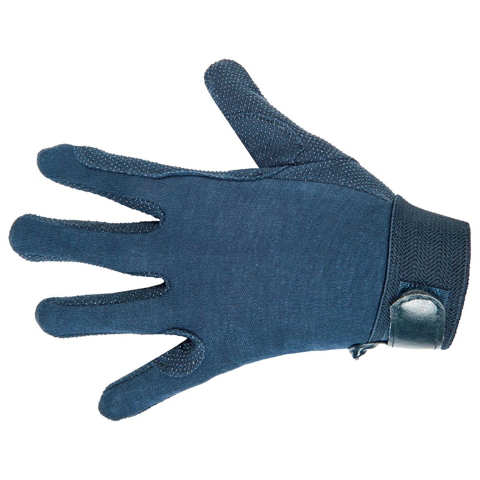 HKM Equestrian Riding Breathable Cotton Durable Comfort Grip Horse Rider Gloves