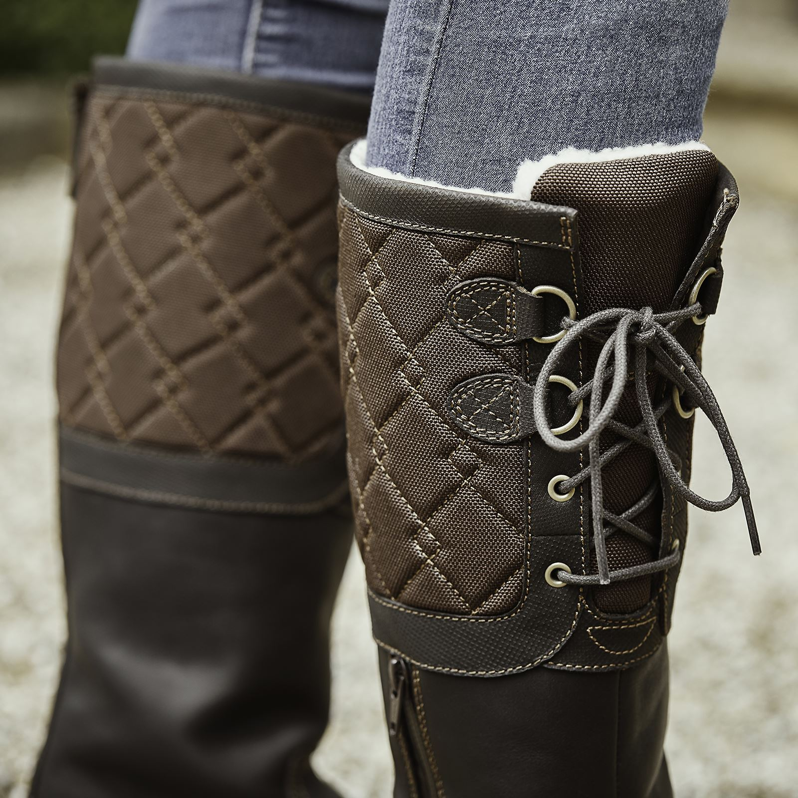 Dublin Teddington Ladies Breathable Horse Riding Waterproof Stable Country Boots