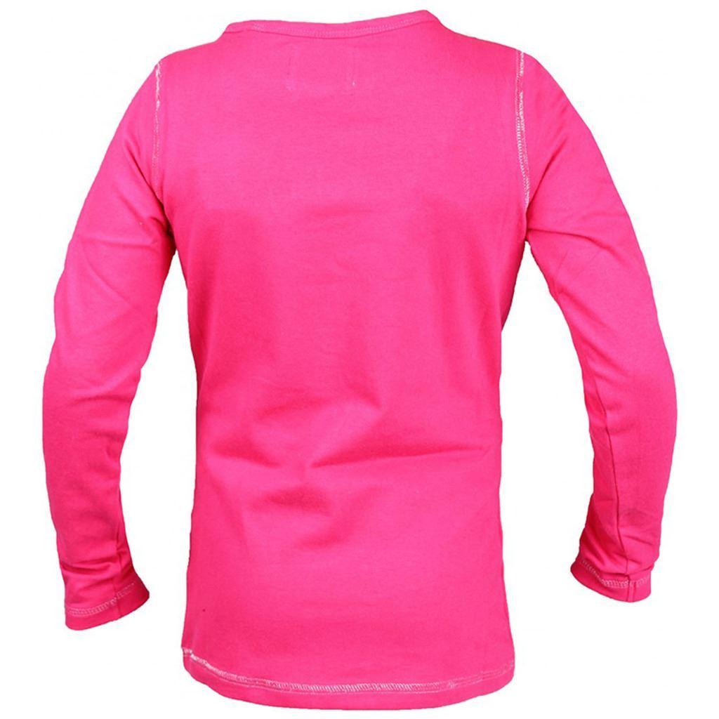 Red Horse Filles Junior Flash shirt avec des paillettes pierres Outdoor Fashion Tops