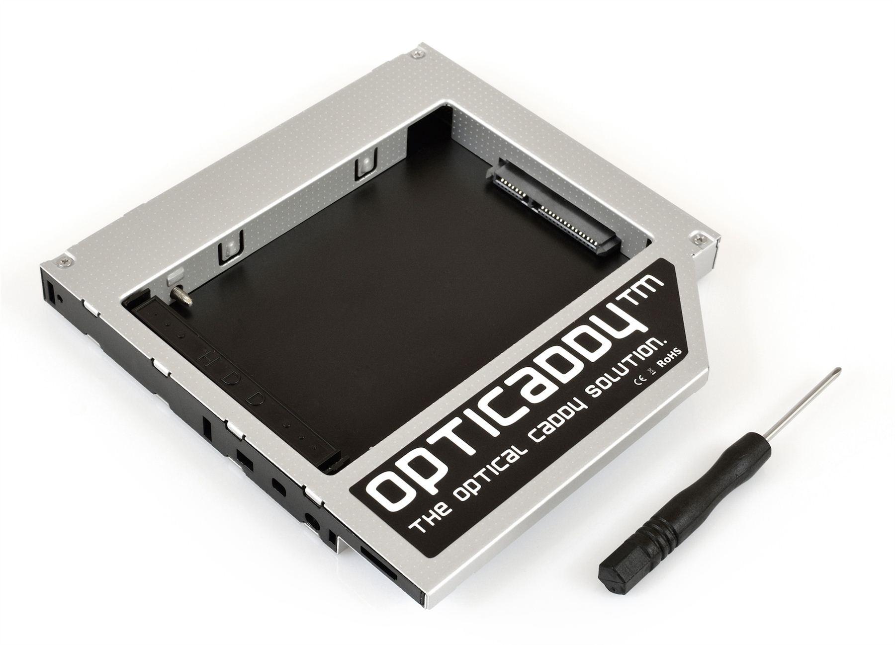 Opticaddy SATA-3 second HDD//SSD Caddy for Dell Latitude E5530 E5410