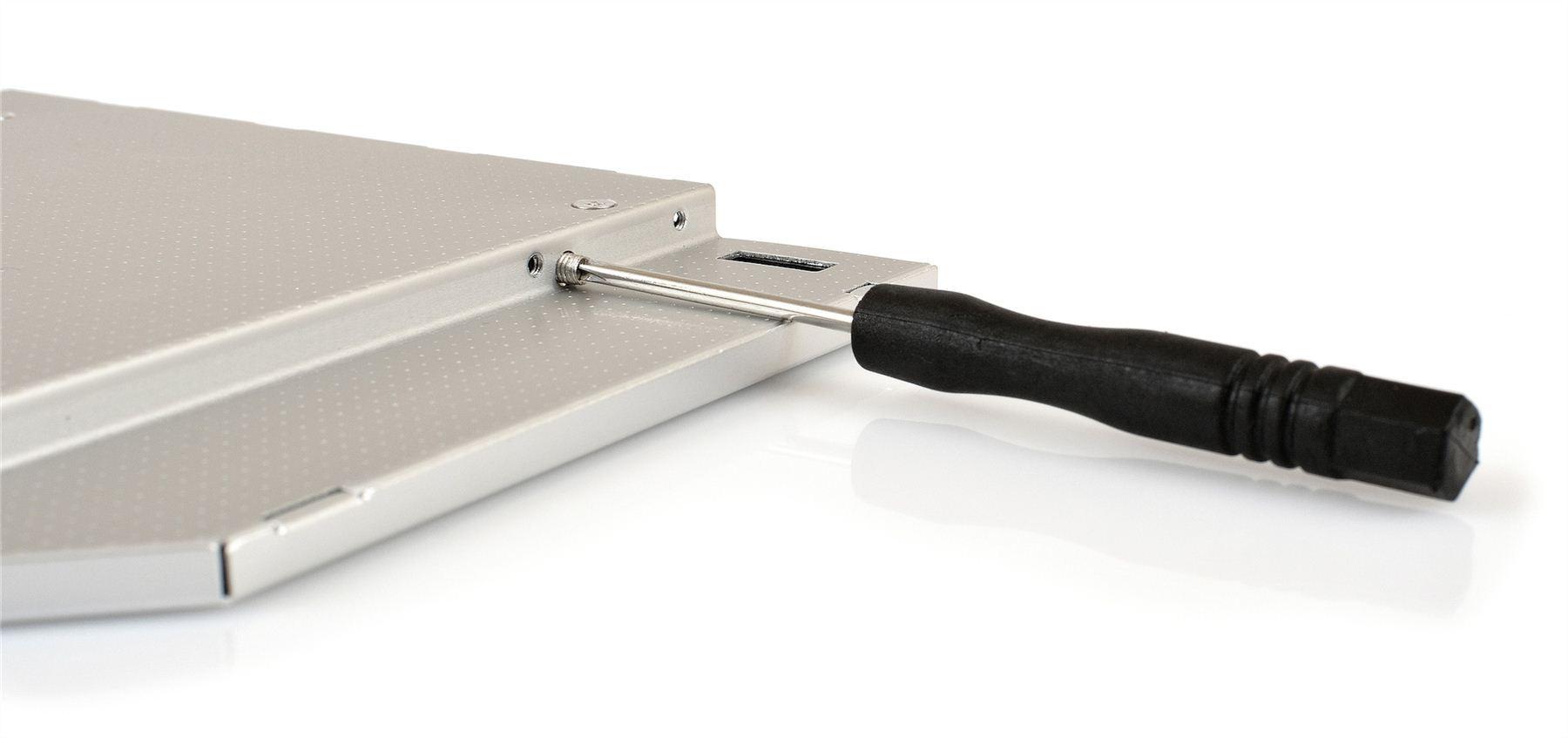 Opticaddy SATA-3 second HDD//SSD Caddy for Lenovo Ideapad 300-15IBR 300-15ISK