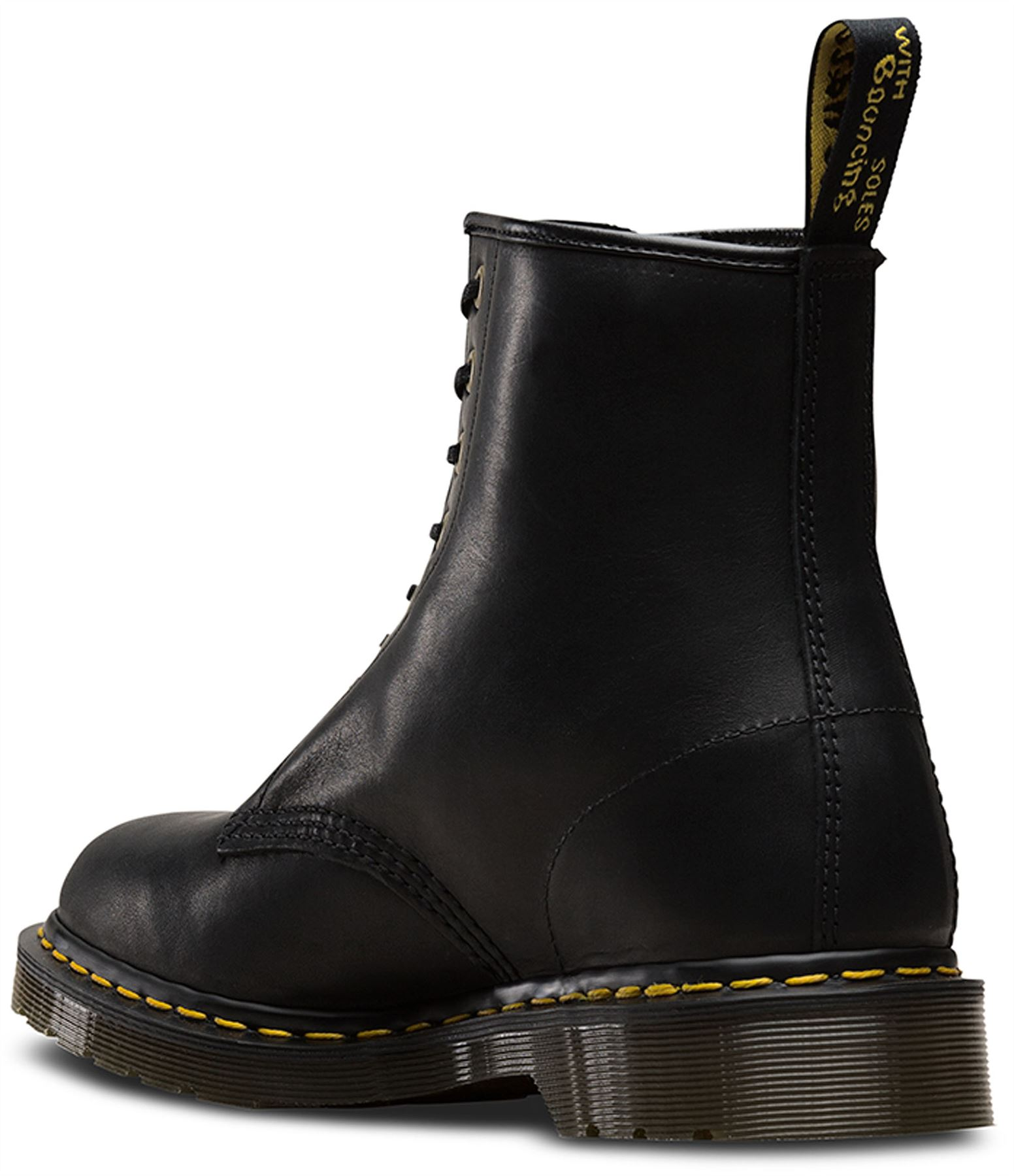 Dr Martens Made In England 1460 Black Dublin Horween Leather Ankle Boots