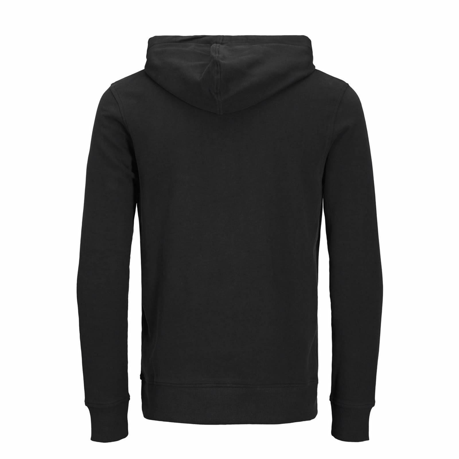 JACK /& JONES Blogger Mens Hoodie Graphic Printed Pullover Over Hood Sweat