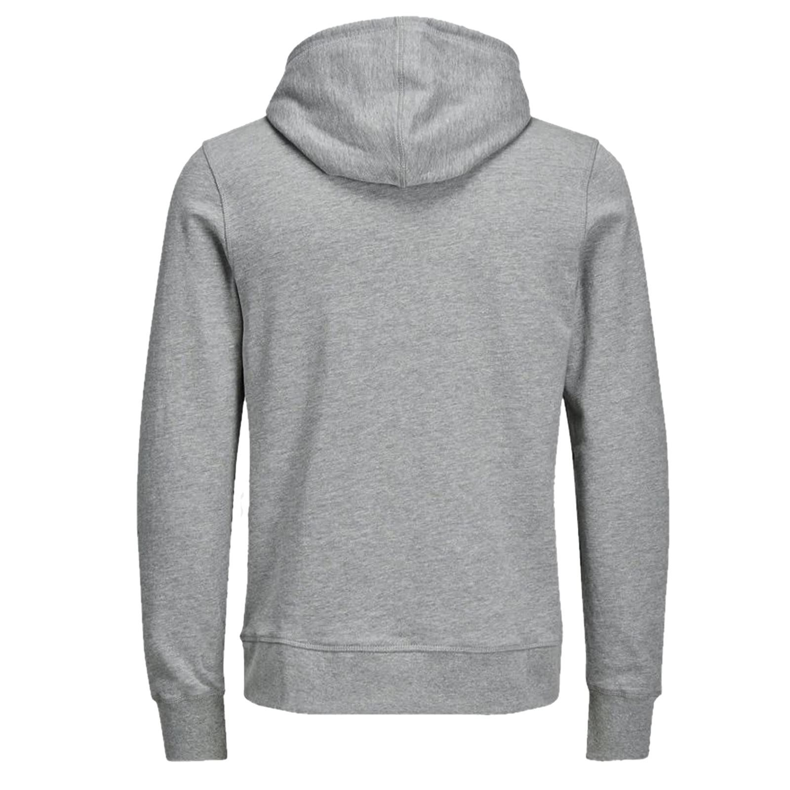 Mens Hoodie JACK /& JONES New Charles Graphic Printed Pullover Over Hood Sweat
