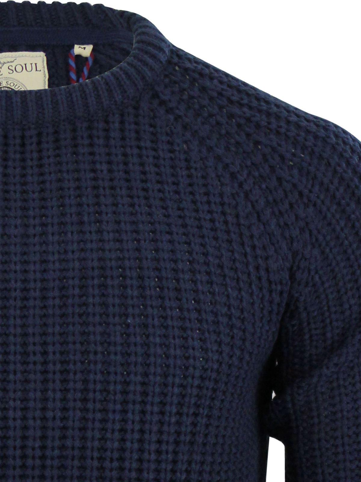 Maglione da Uomo Brave Soul Maglione Lavorato a Maglia in vari stili