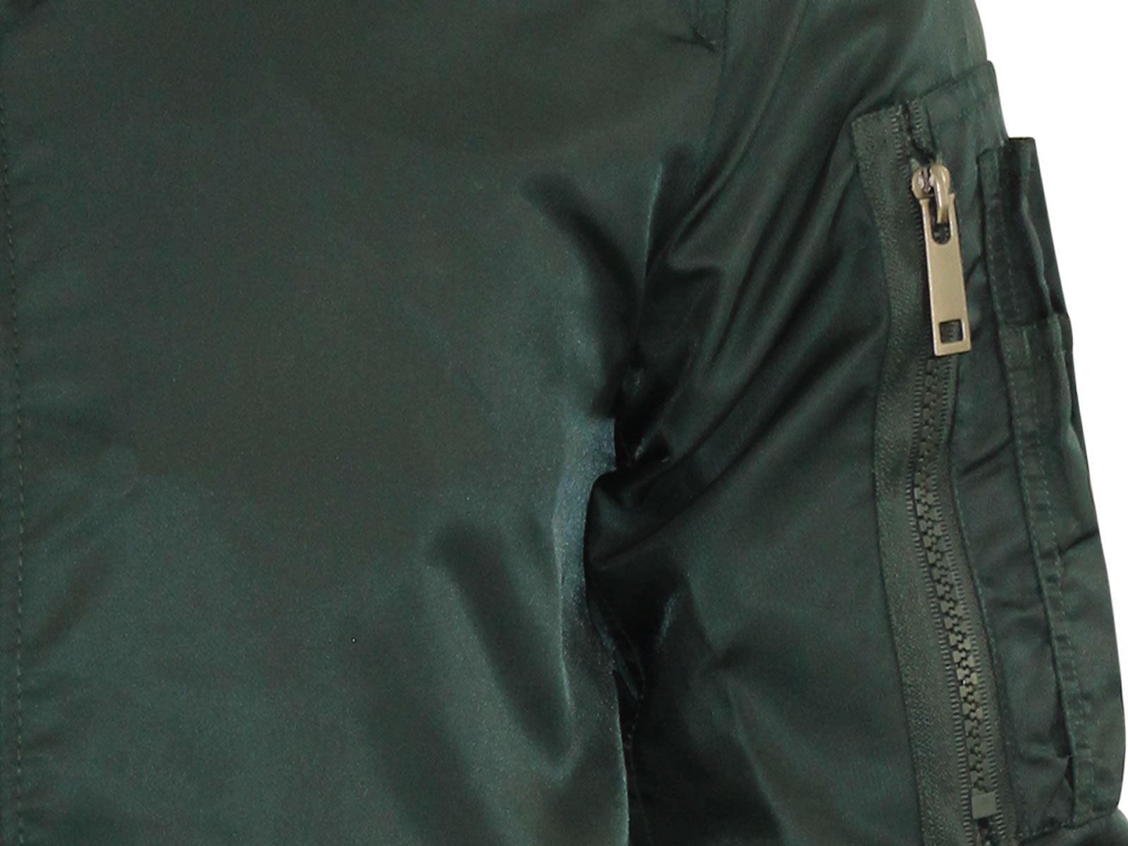 Mens Harrington Jacket Brave Soul MA1 Summer Lightweight Bomber Coat