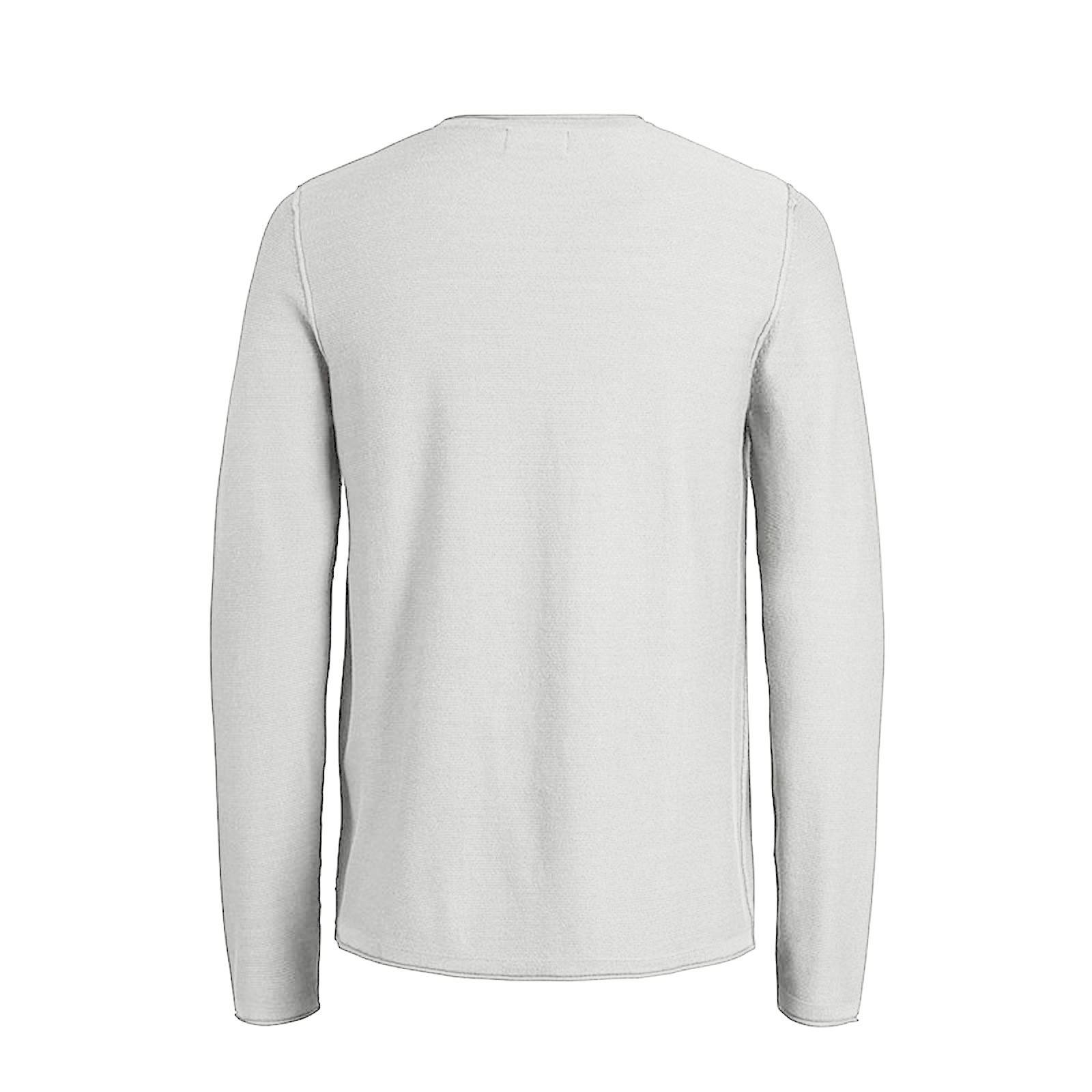 JACK /& Jones Rick Maglione Da Uomo Luce Piatto Lavorato A Maglia Girocollo Pullover sweater