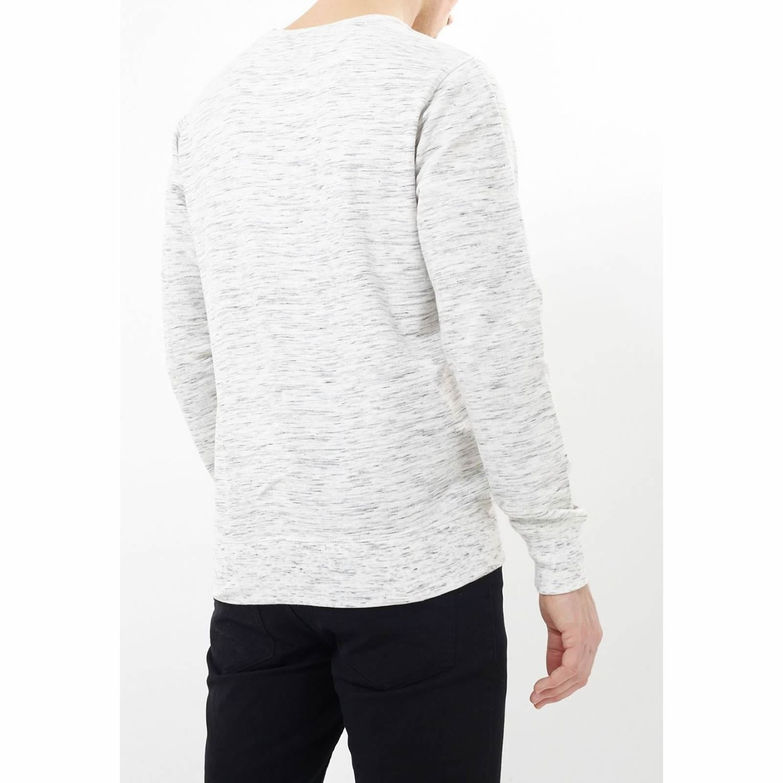 Homme Sweat Brave Soul Caspienne Rose Pullover Sweater