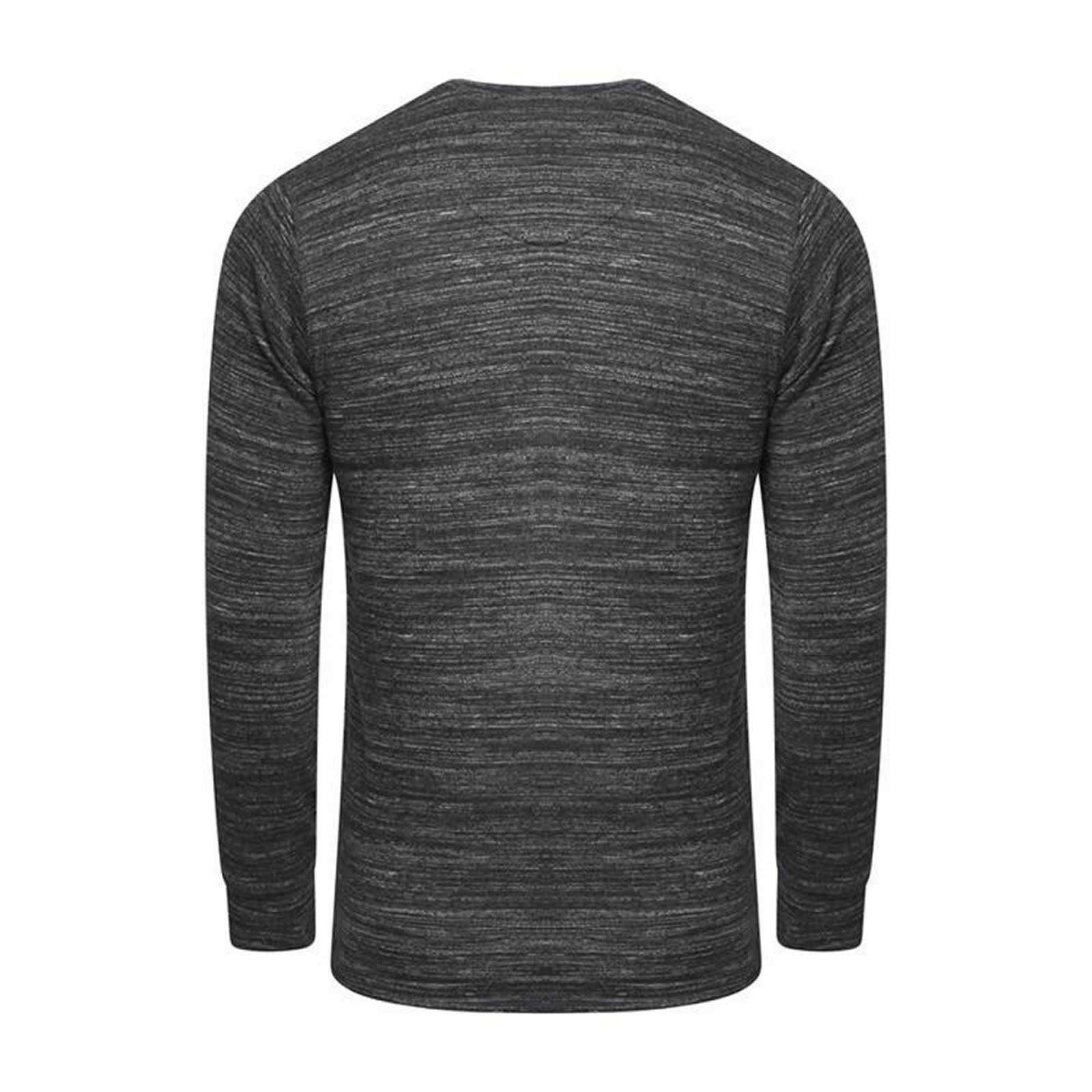 Mens Sweatshirt Jumper Brave Soul Caspian Rose Pullover Sweater
