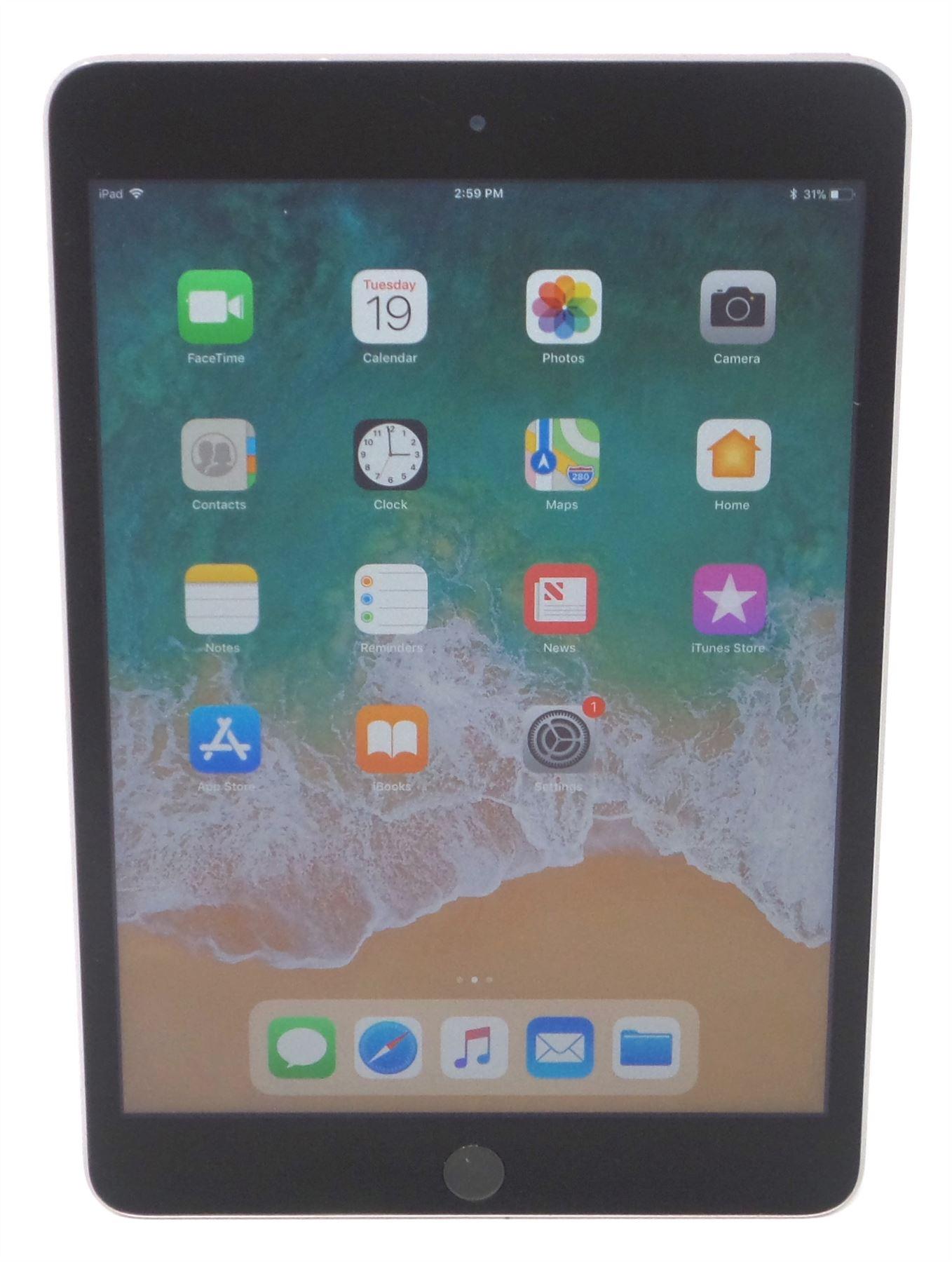 "128GB Wi-Fi 4G Space Gray Gold Silver Apple iPad mini 3rd Gen 7.9/"" 16GB"